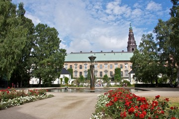 Christiansborg Palace Gardens & Fountain