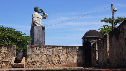 Monumento Fray Antón de Montesinos,  República Dominicana.