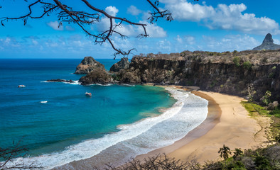 Sancho Bay Beach in Fernando de Noronha