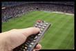 Soccer game on TV