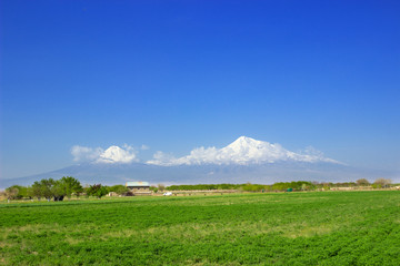 Ararat mountain , Armenia , Ararat valley