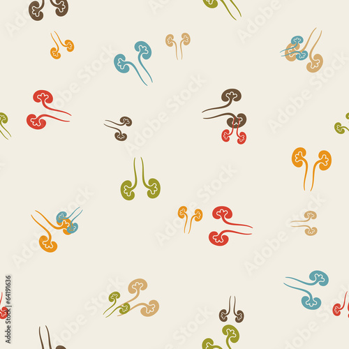 seamless background: kidneys