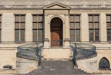 Entrée de musée