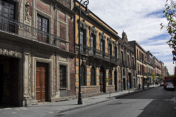 Colonial Buildings, Mexico  City