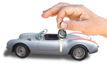 The car and key