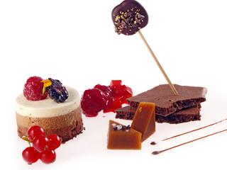 dessert combination