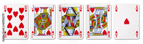 royal flush - 64196279