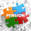 Pension on Multicolor Puzzle.