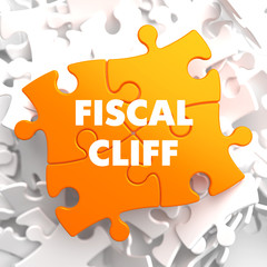 Fiscal Cliff on Orange Puzzle.