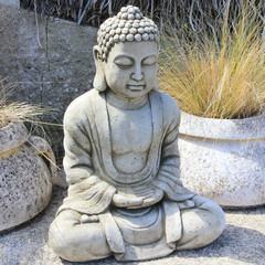 Bouddha au jardin