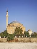 Mustafa Pasha Mosque in Skopje. Macedonia poster