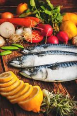 Fresh fish food