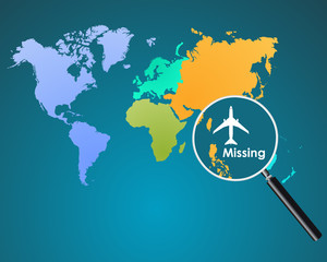 missing airplane in ocean, mh370 missing