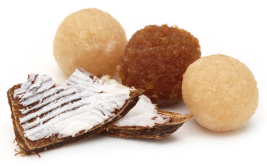 Coconut laddu of Southeast Asia