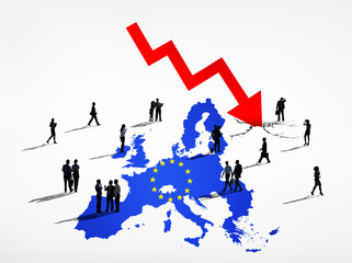 Business People Facing European Crisis