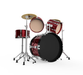 Drum Kit Isolated