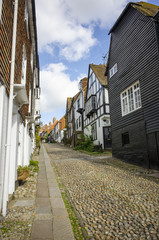 Cobbled Street In Rye, East Sussex
