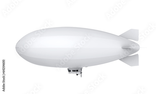 Airship Isolated - 64204600