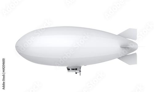 Leinwandbild Motiv Airship Isolated