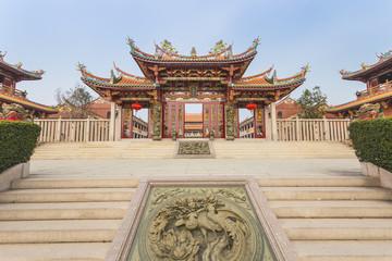 Chinese Temple in Macau , China