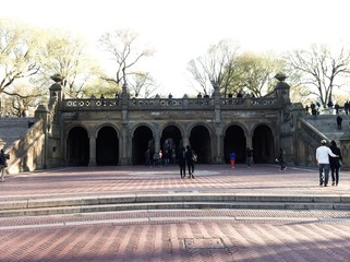 Arches of the terrace Bethesda Fountain