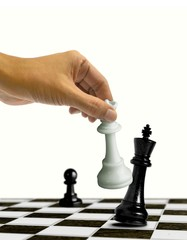 Chess Checkmate Move on King