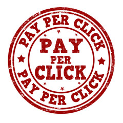 Pay per click stamp