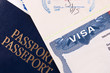 Passport and US Visa - 64208690