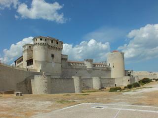 castillo de cuellar en Segovia