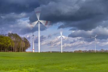 Windmill powerplant