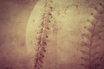 Baseball vintage background