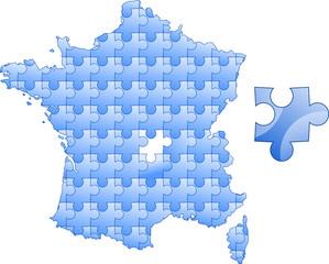 puzzle Francja #2