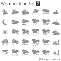 Weather Icon Set 2