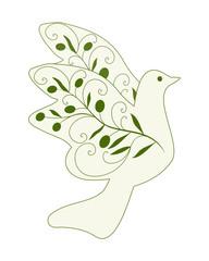 friedenstaube, taube,abstrakt,freiheit,frieden,olivenzweig