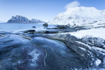 Küste der Lofoten, Norwegen