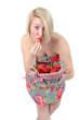 frische Erdbeeren naschen