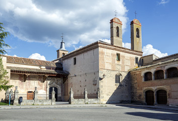 Monastery of San Antonio El Real in Segovia
