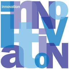 """INNOVATION"" Letter Collage (business strategy ideas creativity)"