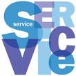 """""""SERVICE"""" Letter Collage (information help hotline customer)"""