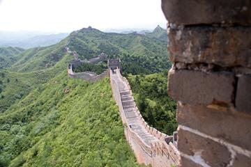 Great wall of China - JinShanLing neat Beijing, China