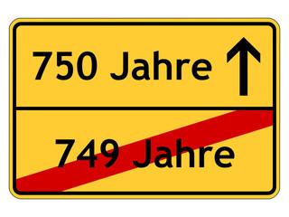 750 Jahre