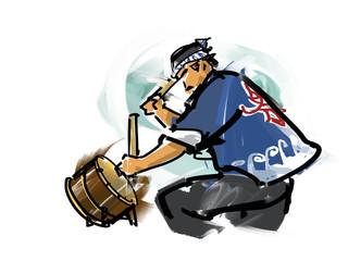 Festival, drum