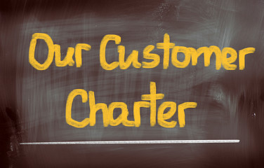 Our Customer Charter Concept