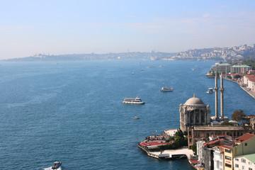 Buyuk Mecidiye Mosque in Istanbul