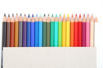 Pochette de crayons