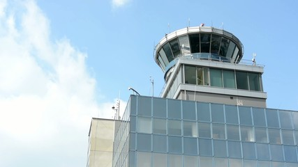 Airport Prague - control tower
