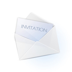 simple envelope with invitation (english version)