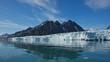Monaco Glacier in Spitsbergen, Svalbard