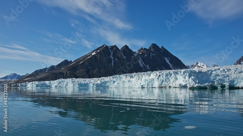 Papiers peints Glaciers Monaco Glacier in Spitsbergen, Svalbard