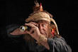 Leinwanddruck Bild - Pirat